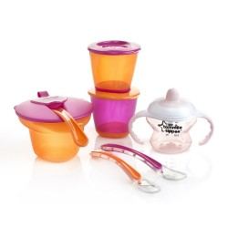 Tommee Tippee Explora Weaning Kit 4m- Girl