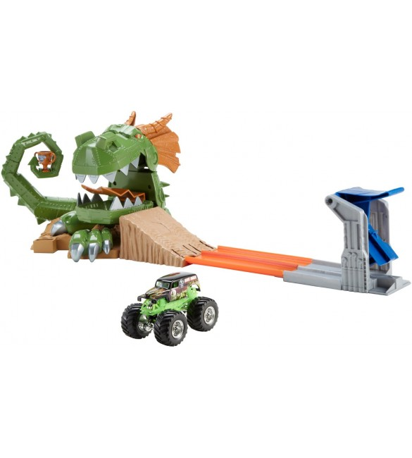 Hot Wheels Monster Jam Dragon Arena Attack Playset