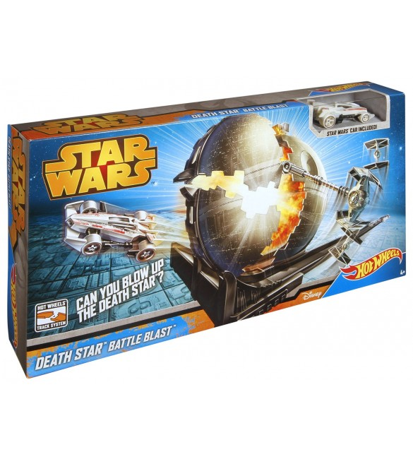 Hot Wheels Star Wars Death Star Battle Blast Track Set