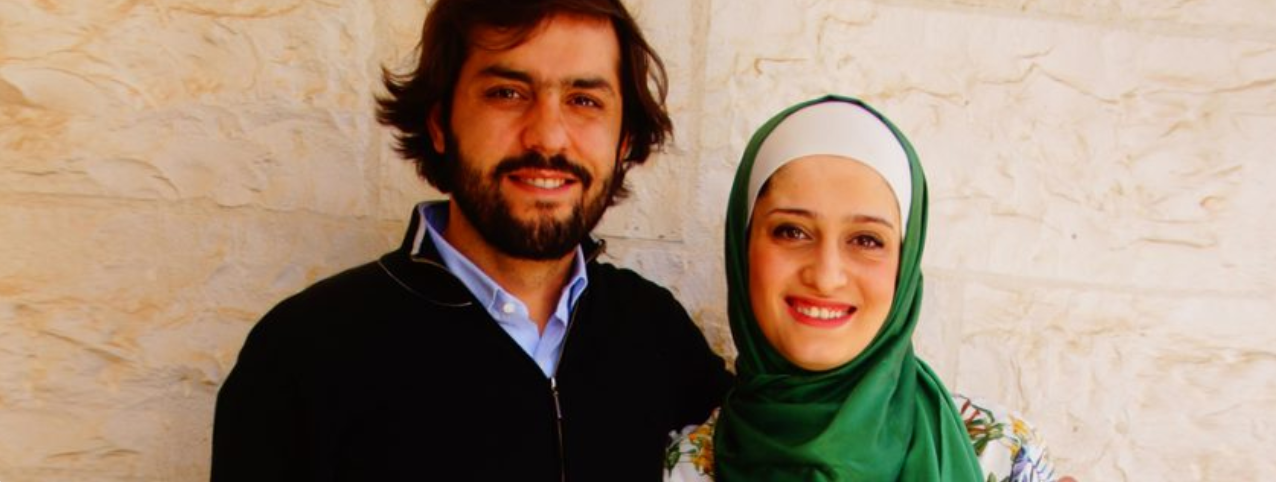 Dumyah.com founders, Kayed Qunibi and Zeina Zuaiter